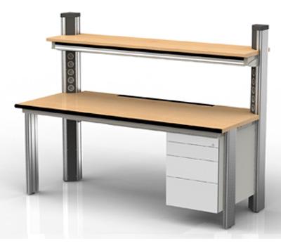 Produktdesign und produktentwicklung von b rom beln for Arbeitstisch design